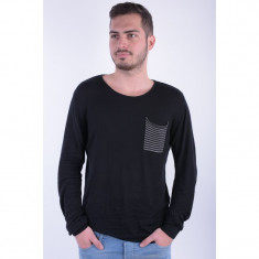 Pulover Jack&Jones Summer Knit Negru