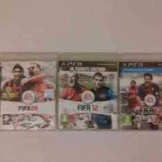 LOT 3 Jocuri FIFA 09 12 13 Street - PS3 [Second hand] - Jocuri PS3, Sporturi, 18+, Single player