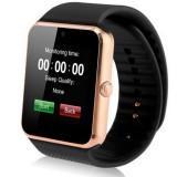 Smartwatch cu Telefon iUni GT08s Plus, Camera, BT, 1.54 inch, Gold