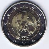 Moneda 2 euro comemorativa FINLANDA 2017_natura, UNC, Europa, Cupru-Nichel