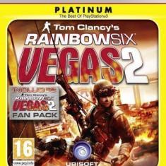 Tom Clancy's Rainbow Six - Vegas 2  PLATINUM - PS3 [Second hand], Shooting, 16+, Multiplayer