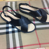 Sandale dama negre cu sclipici marime 38+CADOU, Culoare: Din imagine