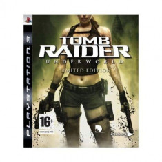 Tomb Raider Underworld LIMITED EDITION - PS3 [Second hand] - Jocuri PS3, Actiune, 12+, Single player
