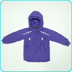 Geaca iarna, calduroasa, impermeabila, H&M → fete | 6—7 ani | 116—122 cm, Alta, Mov