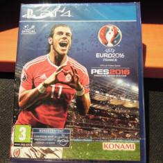 Joc UEFA 16 + PES 16, PS4, original si sigilat, alte sute de jocuri! - Jocuri PS4, Sporturi, 3+, Multiplayer