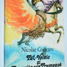 Carte povesti Fat Voinic si Domnita cea Frumoasa - Nicolae Cojocaru (1988) - Carte de povesti
