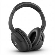 Auna ANC-10, Căști, Adaptor, Casti On Ear, Cu fir, Mufa 3, 5mm, Active Noise Cancelling