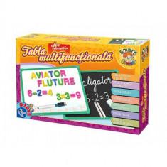 Tabla Multifunctionala Educativa Numere si Alfabet - Jocuri arta si creatie D-Toys