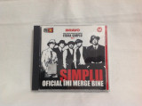 Vand cd Simplu-Oficial Imi Merge Bine,orginal,raritate, cat music