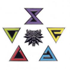 Witcher Enamel Pin Set - Carte in engleza