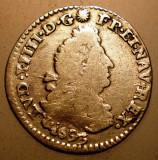 G.346 FRANTA LUDOVIC LOUIS XIV 4 SOLS 1693 E ARGINT 1,43g, Europa