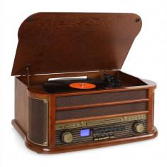 Auna Belle Epoque 1908 Vintage Micro instalare USB CD MP3 Vinyl - Pickup audio