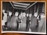 4 foto cu Mia Groza de la o intalnire cu oficiali americani la ambasada SUA