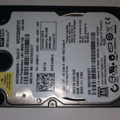 "43.HDD Laptop 2.5"" SATA 250 GB Western Digital  5400 RPM 8 MB, 200-299 GB, Western Digital"