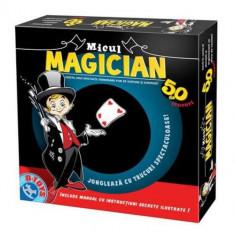Micul Magician - 50 Trucuri - Jocuri arta si creatie D-Toys