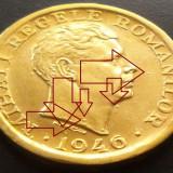Moneda 2000 Lei - ROMANIA, anul 1946 *cod 1656 Surplus Eroare - Bule revers - Moneda Romania, An: 1924