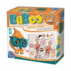 BuBoo - Corpul Uman - Jocuri arta si creatie D-Toys