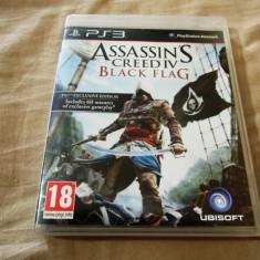 Joc Assassin's Creed IV Black Flag original, PS3! - Jocuri PS3 Ubisoft, Actiune, 18+, Single player