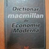 DICTIONAR MACMILLAN DE ECONOMIE MODERNA de SORICA SAVA - Carte Marketing