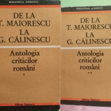Simion, Eugen - De la Maiorescu la Călinescu vol.1 și 2, 1971 - Carte veche