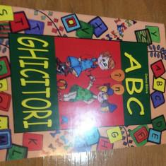 ALFABETUL IN GHICITORI - DOINA BILIUS - Carte cu ghicitori pentru copii