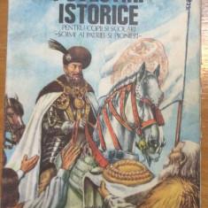 POVESTIRI ISTORICE - DUMITRU ALMAS, ILUSTRATII VALENTIN TANASE VOL 2 - Carte de povesti