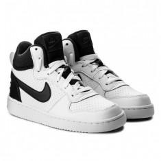Ghete Adidasi Nike Court Borough Mid -Adidasi Originali 839977-101 - Adidasi copii Nike, Marime: 36.5, 37.5, 38.5, Culoare: Din imagine
