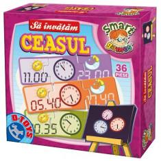 Sa Invatam Ceasul - Jocuri arta si creatie D-Toys