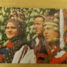 VTAP - ARTA POPULARA - COSTUME POPULARE ROMANESTI, Necirculata, Fotografie
