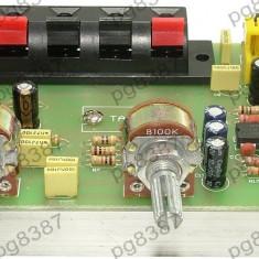 Amplificator audio, stereo, cu corector de ton, TDA8250AF - 130235