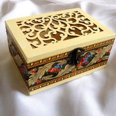 Cutie lemn decorata 29709