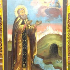 SF. MACARIE, ICOANA RUSIA, SECOL XIX - Pictor roman