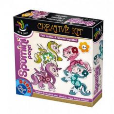 Joc Creativ Spumini Ponei - Jocuri arta si creatie D-Toys