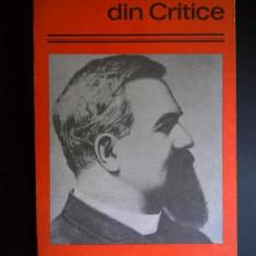 Titu Maiorescu – Din Critice