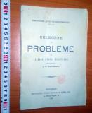 Culegere de probleme de algebra teoria ecuatiilor -1904