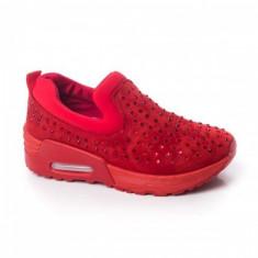 Adidasi dama Dries rosii sport