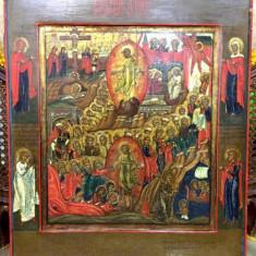 VOSKRESENIA, ICOANA RUSIA, SECOL XIX - Pictor roman