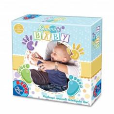 Joc Spumini - Amprenta Bebelusului - Jocuri arta si creatie D-Toys