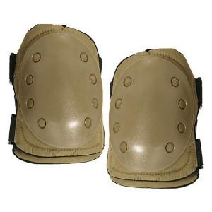 Set genunchiere protectie airsoft culoare NEGRU - VERDE - TAN