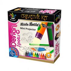 Design Spots - Proiector - Jocuri arta si creatie D-Toys