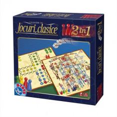 Jocuri Clasice 2 in 1 Ludo, Sus-Jos - Jocuri arta si creatie D-Toys