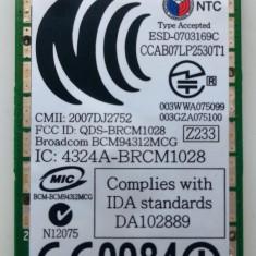 Placa de retea laptop Wi-Fi Broadcom