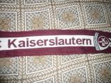 Fular al Suporterilor Echipei Fotbal FC Kaiserslautern --pe visiniu ,L= 136 cm