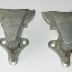 Set legaturi securit MARKER, duraluminiu, vintage, circa 1975