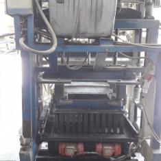 Vibropresa boltari hidraulica fixa