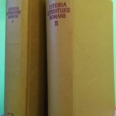 Călinescu, G. - Istoria literaturii române, vol.1 și 2, 1968 și 1970 - Carte veche