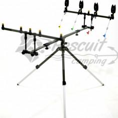 Rod Pod / Tripod EASTSHARK 360 Grade 3, 4, 5 Posturi Full Echipat