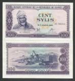 GUINEEA GUINEA 100 SYLIS 1971 UNC [1] P- 19 , necirculata