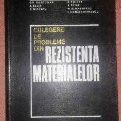 Culegere De Probleme Din Rezistenta Materialelor - Gh. Buzdugan, Didactica si Pedagogica