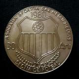 Medalie fotbal Gaz Metan Medias - Medalii Romania